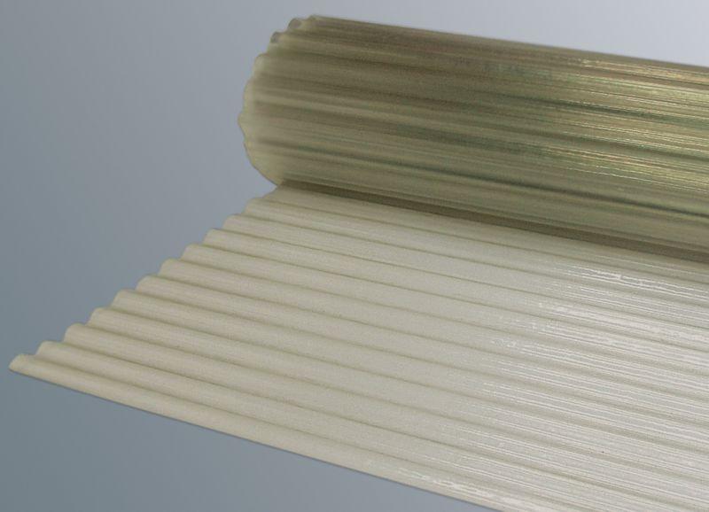 polyester lichtbahn natur transparent gewellt sinuswelle. Black Bedroom Furniture Sets. Home Design Ideas