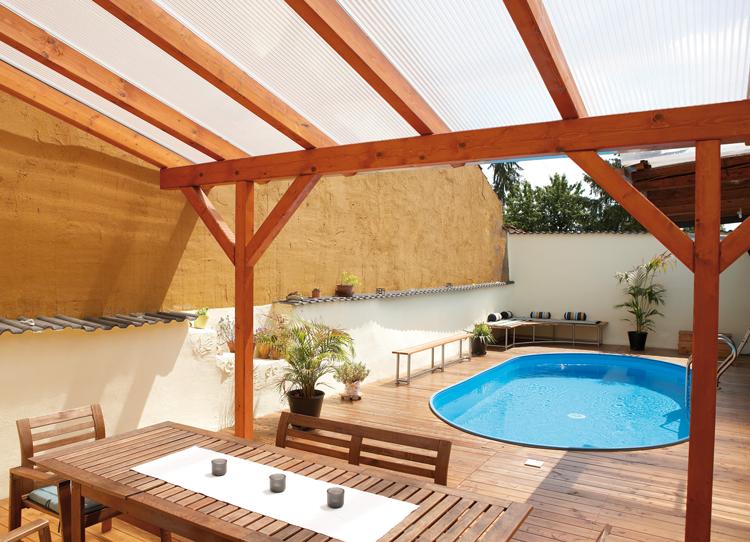 Baustoffhandel Carstensen - Doppelstegplatten für Terrassendach preiswert kaufen