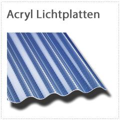 Acryl Lichtplatten