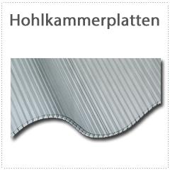 Hohlkammer Wellplatten