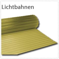 Lichtbahnen bis 30 m aus Polyester